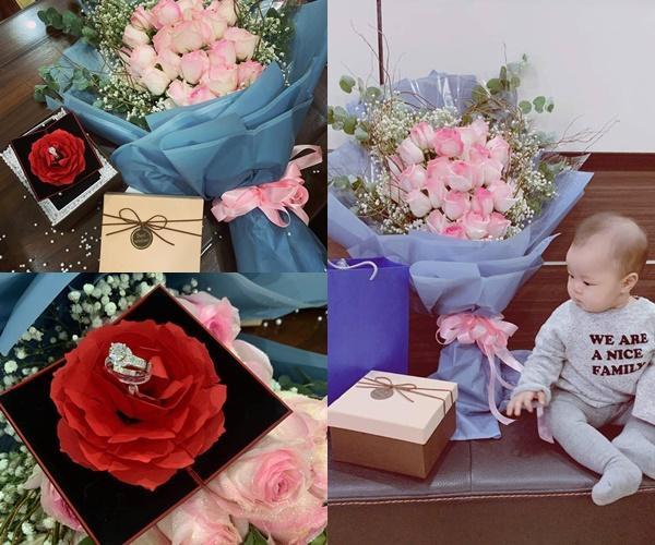 Phá lưới Jordan, Quế Ngọc Hải tặng nhẫn kim cương bà xã hoa khôi nhân dịp kỷ niệm 1 năm ngày cưới-3