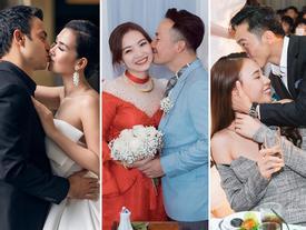 Trời ơi tin được không: Chưa đầy 1 tháng đầu năm mà showbiz Việt đã có 7 cặp sao nên duyên chồng vợ