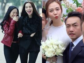 Nhận tin Cường Đô La cưới Đàm Thu Trang, đồng loạt sao Việt gửi lời chúc phúc nổi bật nhất vẫn là Lệ Quyên