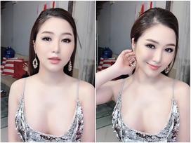 Hương Tràm khiến fan 'toát mồ hôi' khi diện váy trễ nải khoe 3/4 vòng ngực