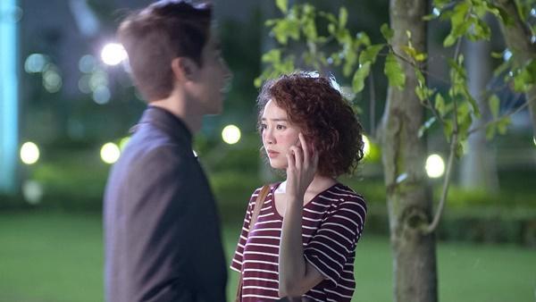 Lan Ngọc rớt nước mắt khi chứng kiến Bình An ôm Chi Pu trong tập 3 Mối Tình Đầu Của Tôi-1
