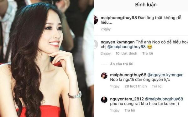 Hoa hậu Mai Phương Thúy bất ngờ chia sẻ: Noo Phước Thịnh là một người đàn ông quyền lực-1