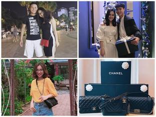 Bóc giá loạt hàng hiệu 'chất như núi' của hai cô bạn gái cầu thủ Duy Mạnh, Quang Hải: Ai 'mạnh' hơn?