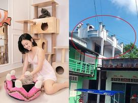 Đẳng cấp như hotgirl thị phi Thúy Vi: Hết tậu nhà tiền tỷ lại khoe làm nhà ở quê cho bố chỉ để bịt miệng đời