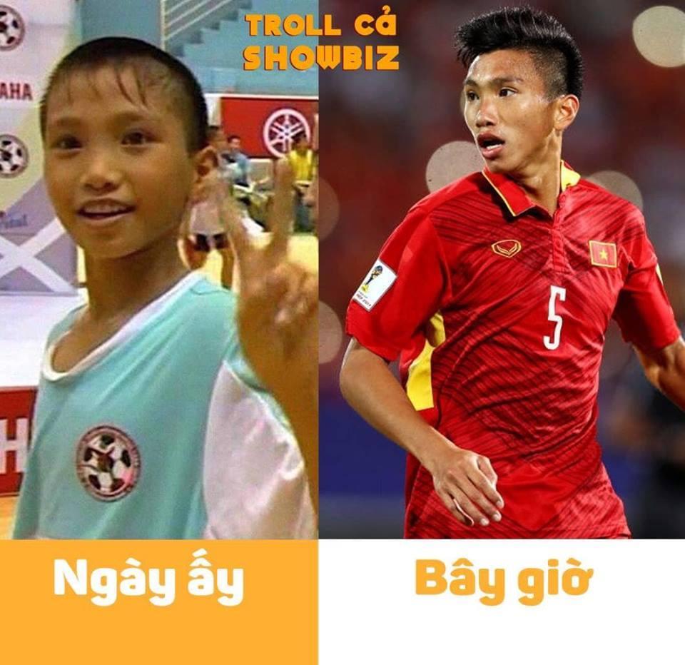 Bị đào mộ ảnh theo trào lưu ngày ấy bây giờ, tuyển Việt Nam khiến fans cười bò, tội nghiệp nhất là Công Phượng-6