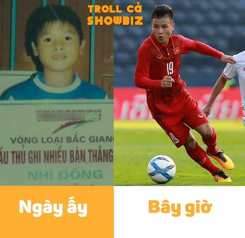 Bị đào mộ ảnh theo trào lưu ngày ấy bây giờ, tuyển Việt Nam khiến fans cười bò, tội nghiệp nhất là Công Phượng-7