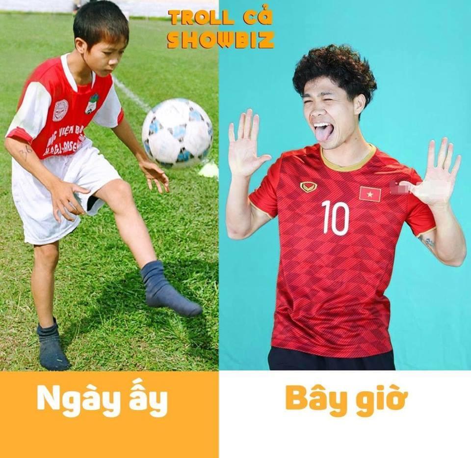 Bị đào mộ ảnh theo trào lưu ngày ấy bây giờ, tuyển Việt Nam khiến fans cười bò, tội nghiệp nhất là Công Phượng-10