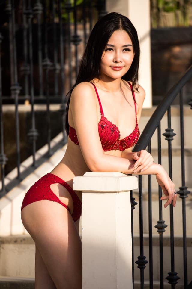 Nghi án Lê Âu Ngân Anh hút mỡ cấp tốc để thi Miss Intercontinental và sự thật về những dấu lằn đỏ đáng sợ trên cơ thể-3