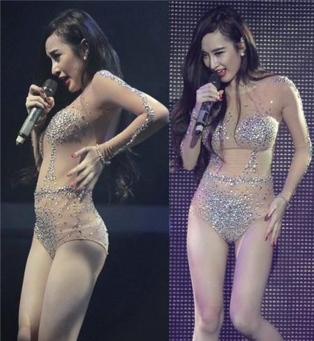 Không phải Mai Phương Thúy, Hà Hồ - Angela Phương Trinh mới là nữ hoàng mặc đồ nude mà ngỡ như khỏa thân-5
