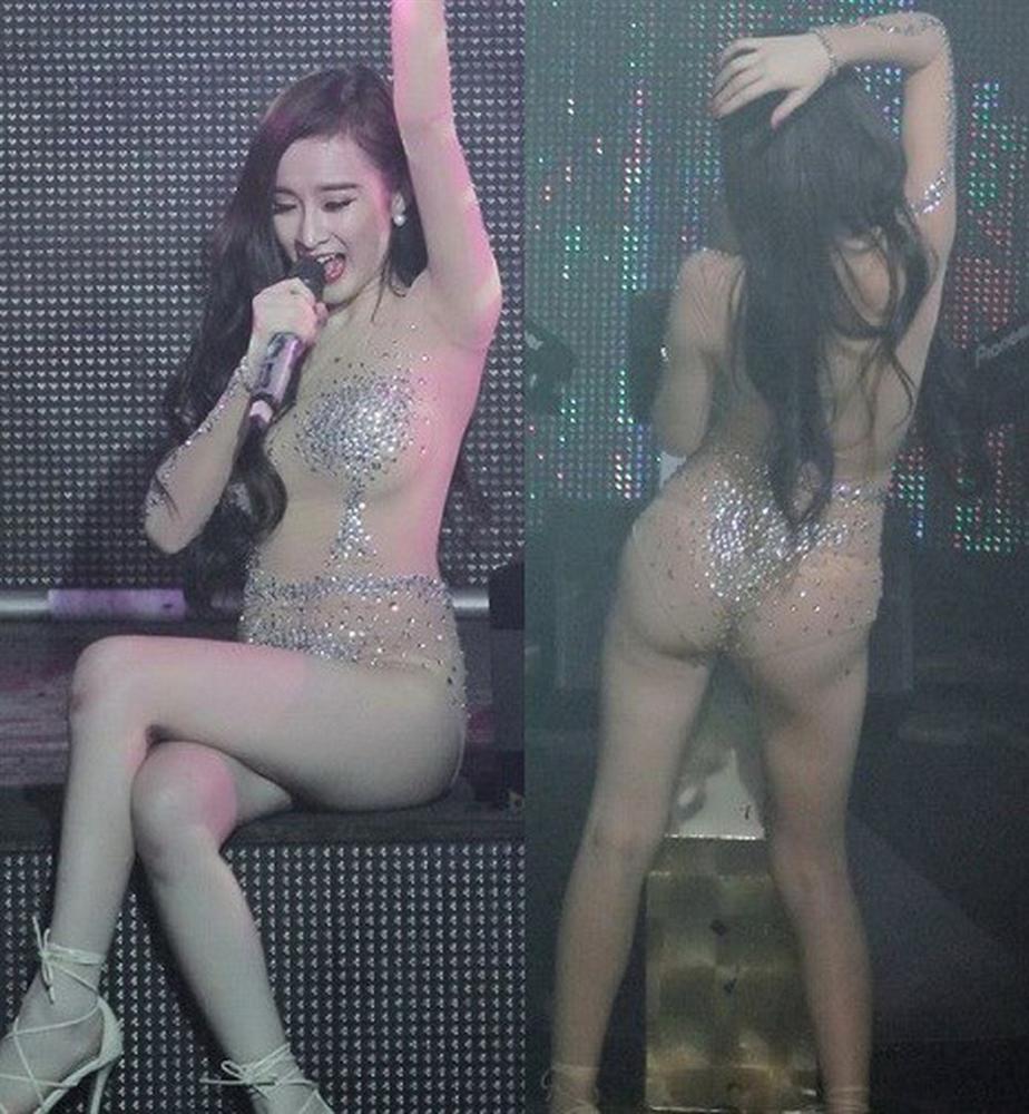 Không phải Mai Phương Thúy, Hà Hồ - Angela Phương Trinh mới là nữ hoàng mặc đồ nude mà ngỡ như khỏa thân-6