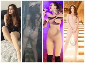 Không phải Mai Phương Thúy, Hà Hồ - Angela Phương Trinh mới là 'nữ hoàng' mặc đồ nude mà ngỡ như khỏa thân