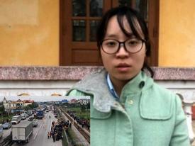 Hải Dương: Vợ tài xế gây tai nạn 8 người chết ôm bụng bầu cầu xin tha thứ