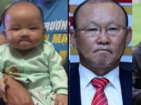 Những em bé giống HLV Park Hang Seo gây sốt mạng xã hội