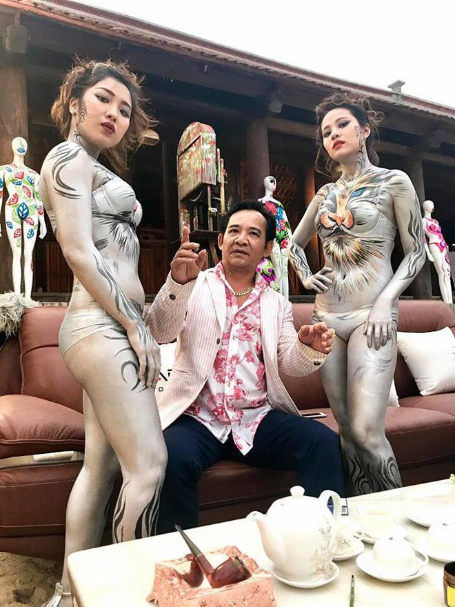 Quang Tèo và mẫu nude body painting gây phản cảm trong hài Tết: Sự thật ngã ngửa-2