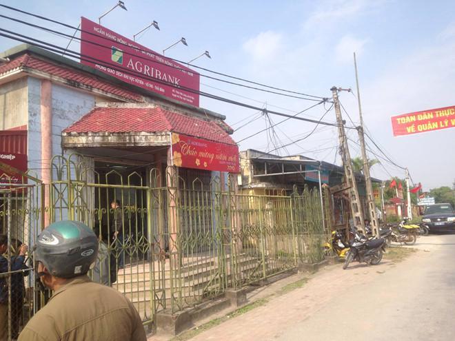 Nam công nhân cướp 200 triệu tại ngân hàng ở Thái Bình sa lưới-1