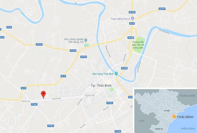 Nam công nhân cướp 200 triệu tại ngân hàng ở Thái Bình sa lưới-2