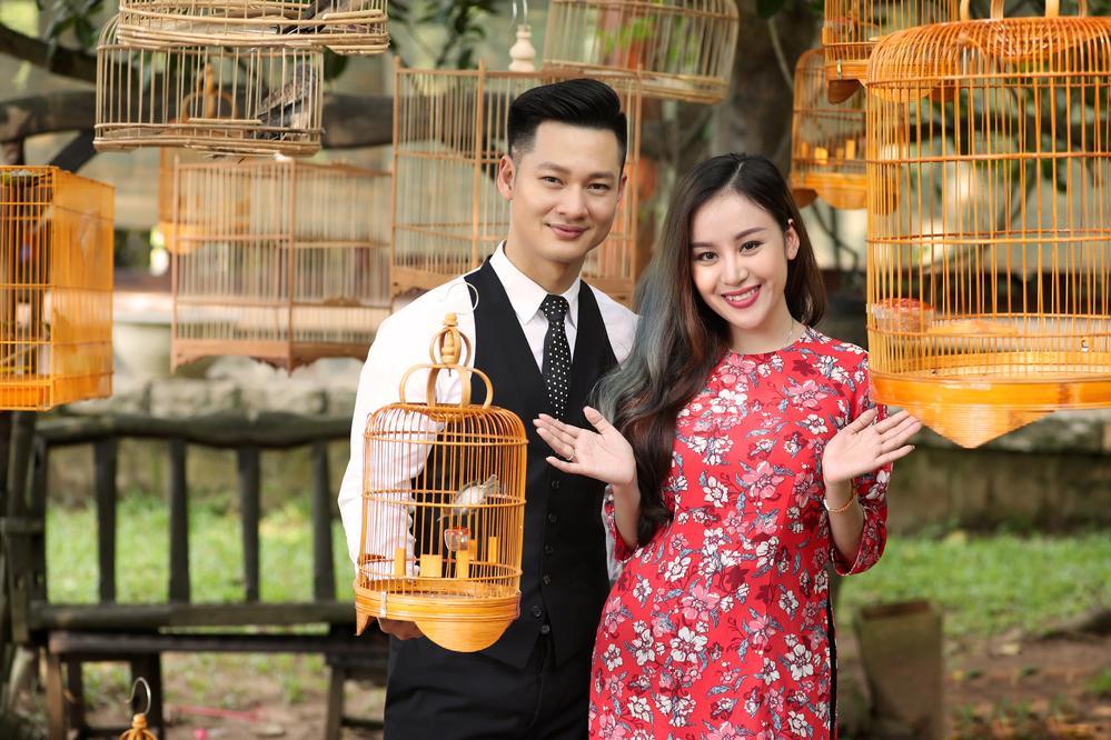 Hàng loạt mỹ nhân lên đồ với áo dài cách tân: Mai Phương và Bích Phương dịu dàng; Ngô Thanh Vân, Quỳnh Chi ma mị-9