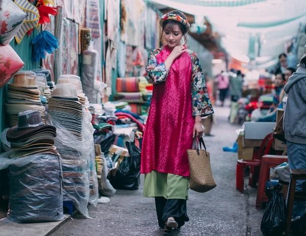 Hàng loạt mỹ nhân lên đồ với áo dài cách tân: Mai Phương và Bích Phương dịu dàng; Ngô Thanh Vân, Quỳnh Chi ma mị-11