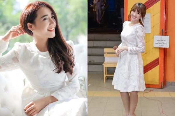 Lần thứ 2 đụng hàng với Nhã Phương, Hari Won mặc luôn váy cưới của vợ Trường Giang lên thảm đỏ-10