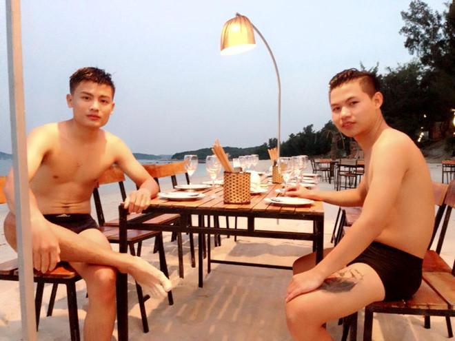 Anh trai Quang Hải có vẻ ngoài nam tính, làm thợ xăm ở Hà Nội-4