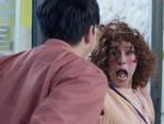 Lan Ngọc biến thành 'nữ hoàng hốt hoảng' mỗi khi gặp mặt Bình An trong tập 6 'Mối tình đầu của tôi'