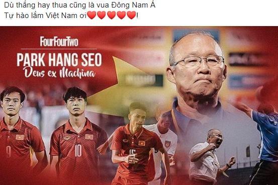 Tuyển Việt Nam dừng chân ở tứ kết, nam thanh niên trùm Quốc kỳ khóc thâu đêm ngoài trời lạnh-3