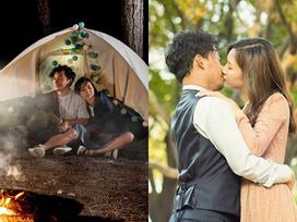 Tiến Đạt khóa môi bà xã Thụy Vy ngọt ngào tại Hàn Quốc - quê hương tình cũ Hari Won