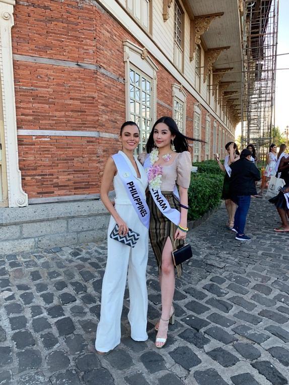 Sát giờ G chung kết Hoa hậu Liên Lục Địa 2018, đếm lại số lần vương miện của Lê Âu Ngân Anh rung lên vì bão tố-5