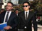 Tài tử Trung Quốc xuất hiện như ngôi sao dù ra tòa vì tội cưỡng dâm