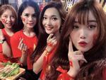 Bức ảnh gây 'đau tim' nhất mùa Asian Cup: Dàn bạn gái cầu thủ hội ngộ trong một khung hình, ai cũng đẹp nổi bật