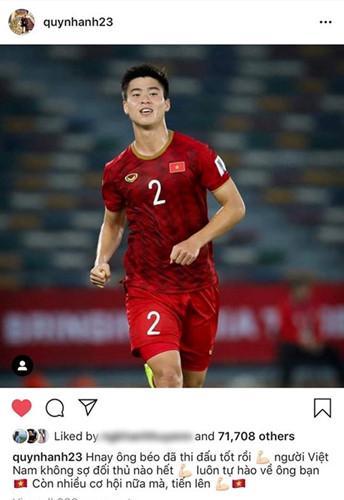 Bạn gái cầu thủ Việt Nam đồng loạt lên tiếng: Về nhà thôi, có em chờ-3