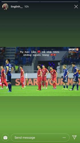 Bạn gái cầu thủ Việt Nam đồng loạt lên tiếng: Về nhà thôi, có em chờ-4
