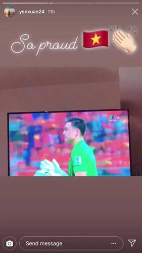 Bạn gái cầu thủ Việt Nam đồng loạt lên tiếng: Về nhà thôi, có em chờ-5