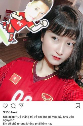 Bạn gái cầu thủ Việt Nam đồng loạt lên tiếng: Về nhà thôi, có em chờ-6