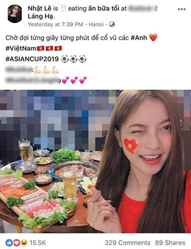 Bạn gái cầu thủ Việt Nam đồng loạt lên tiếng: Về nhà thôi, có em chờ-7