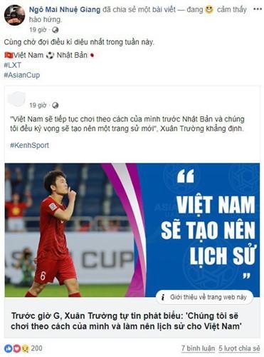 Bạn gái cầu thủ Việt Nam đồng loạt lên tiếng: Về nhà thôi, có em chờ-9