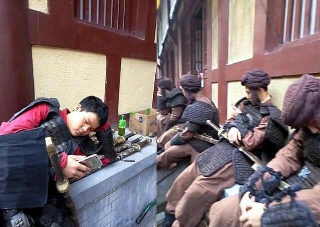 Cảnh tủi nhục, lương bèo bọt của diễn viên quần chúng ở Trung Quốc-8
