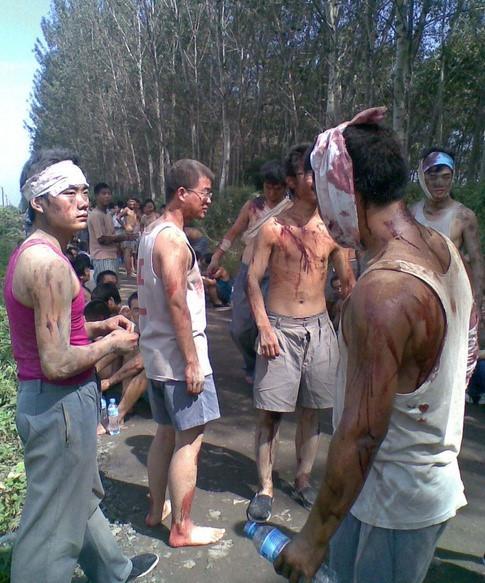 Cảnh tủi nhục, lương bèo bọt của diễn viên quần chúng ở Trung Quốc-10