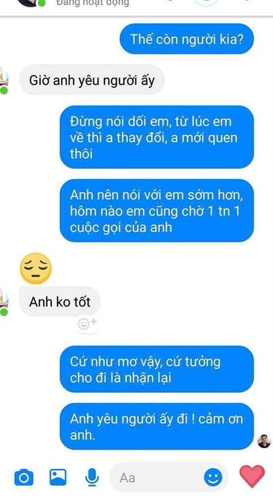 Cô gái số nhọ: Vừa về quê nghỉ Tết vài ngày, người yêu đã nhắn tin chia tay vì lý do bất ngờ-2