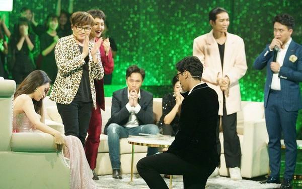 Chàng trai bị HH Hương Giang từ chối khi cầu hôn trên sóng truyền hình: Tôi nói bằng trái tim không phải dàn dựng-3