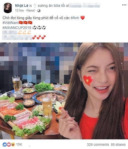 Bị soi nhan sắc xấu nhất trong hội bạn gái cầu thủ, bạn gái Quang Hải mỉa mai lại hãy sống sang lên-2