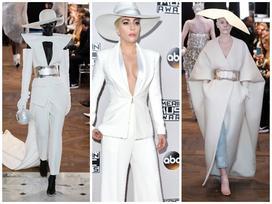Những thiết kế với nguồn cảm hứng từ ca sĩ Lady Gaga của nhà mốt Balmain