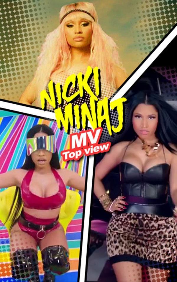 Có ai được như Nicki Minaj: 5 MV nhiều lượt xem nhất toàn là… hát ké cho người khác-5