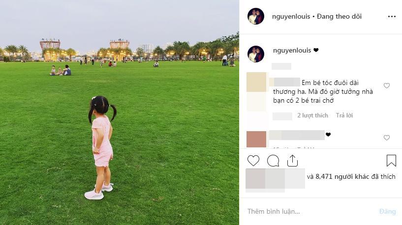 Doanh nhân Louis Nguyễn - ngọc nữ Tăng Thanh Hà gây sốt khi cùng khoe con gái 2 tuổi lớn phổng phao-2