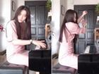 Xõa tóc dài rồi nhắm nghiền mắt, Nam Em dập phím đàn piano điên đảo khiến người xem rợn tóc gáy
