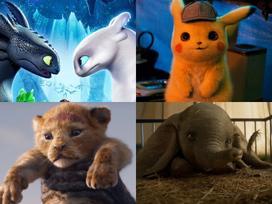 10 loài siêu thú sẽ công phá màn ảnh rộng năm 2019