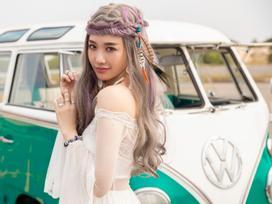 Hari Won hoá cô gái di gan, đầy mộng mị với tạo hình mới lạ