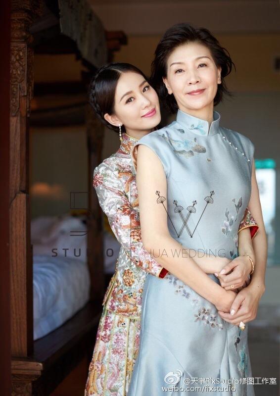 Những bà mẹ trẻ đẹp ăn đứt con gái của mỹ nhân Hoa ngữ-8