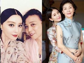Những bà mẹ trẻ đẹp 'ăn đứt' con gái của mỹ nhân Hoa ngữ
