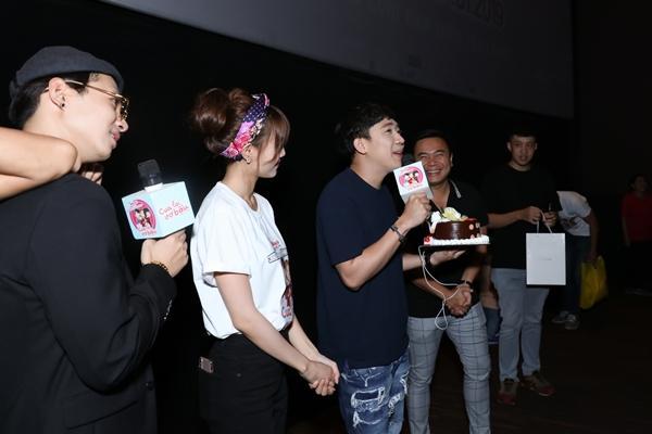Trấn Thành xúc động khi được fans bí mật tổ chức sinh nhật sớm-1